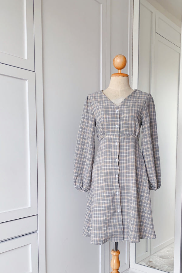 Losya Checkered Dress