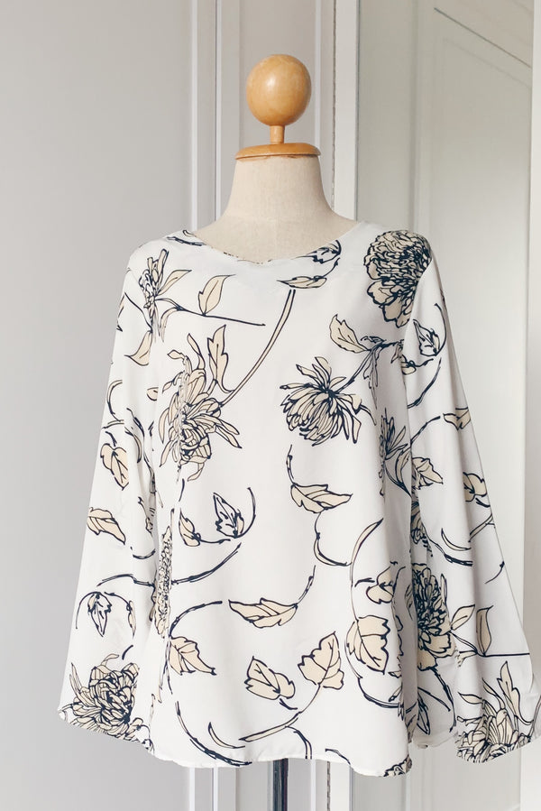 Printed Basic Top - Mihana