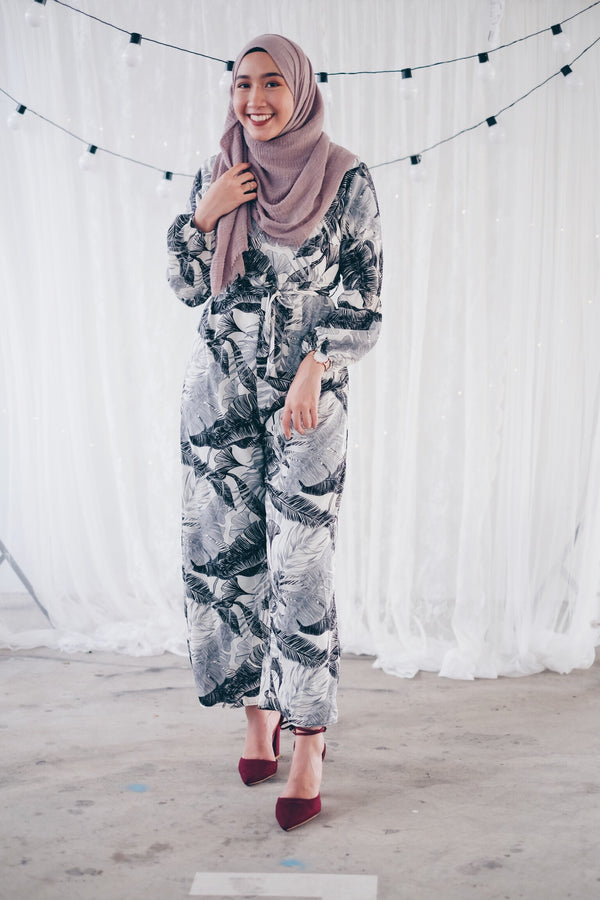 Cross Leaf Jumpsuit