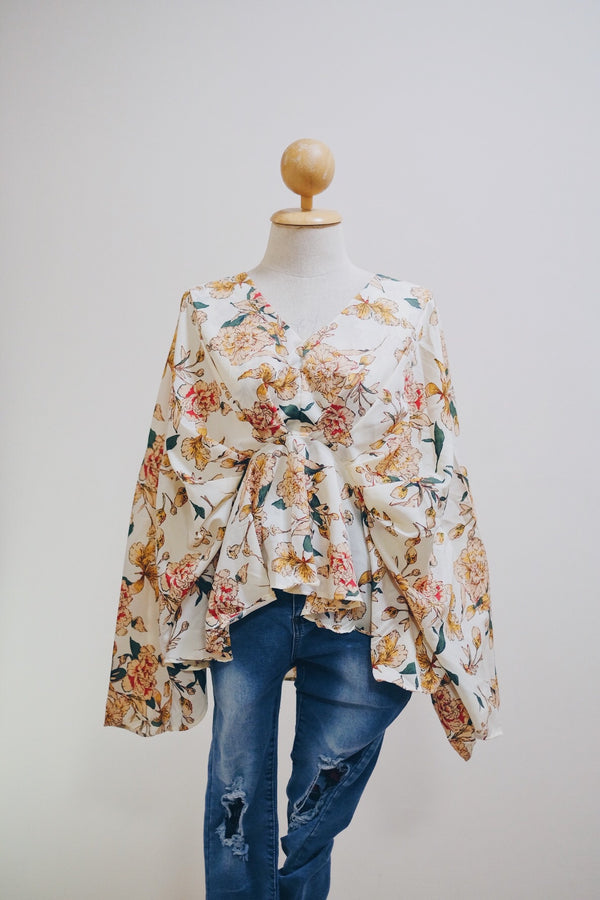 Kimono Batwing Top - Quill