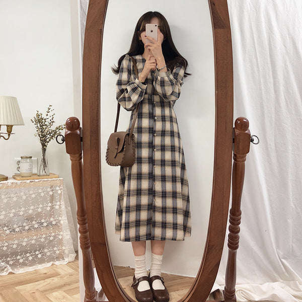 Lolia Checkered Dress