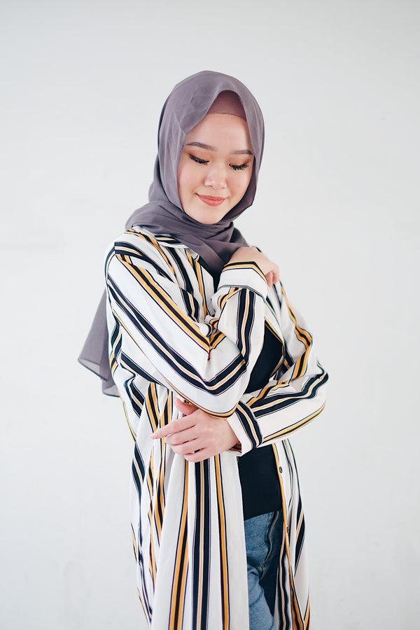 Long Shirt Blouse - Mustario