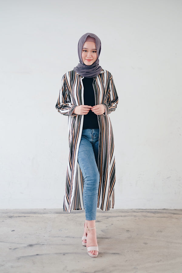 Long Shirt Blouse - Armyia