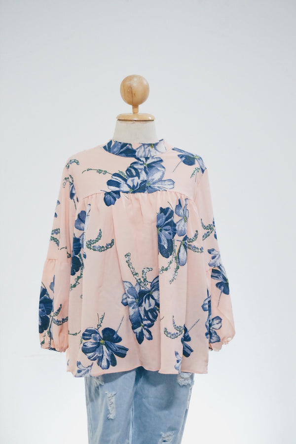 Printed Doll Top - Azalea
