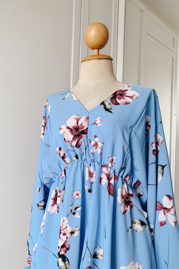 Gathered Kimono Top - Orchid