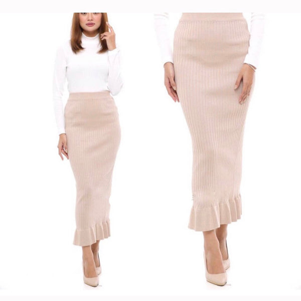 Pencil Skirt - Ruffle