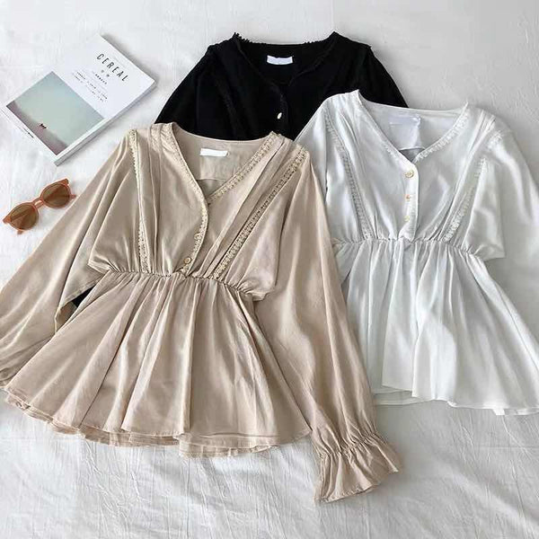 Likka Peplum Top