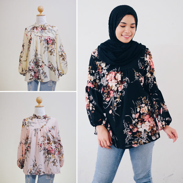 Printed Doll Top - Lina