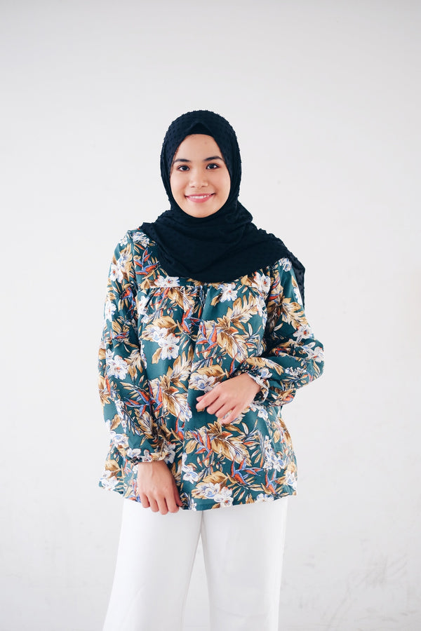Printed Doll Top - Orchid Rich