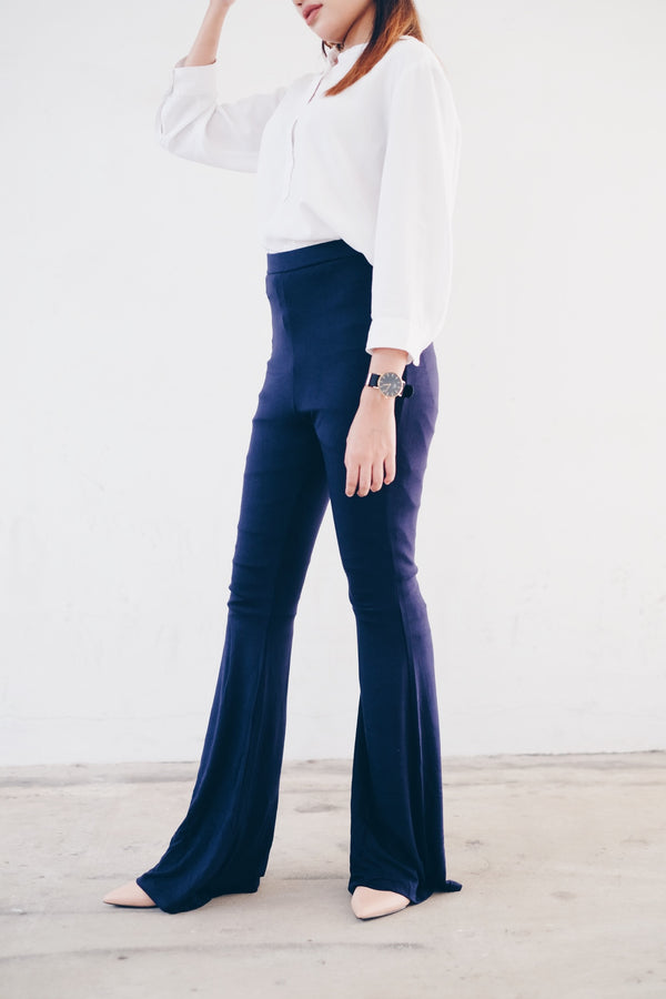Basic Bell Bottom Pants