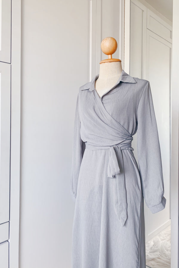 Aniya Slip Wrap Dress