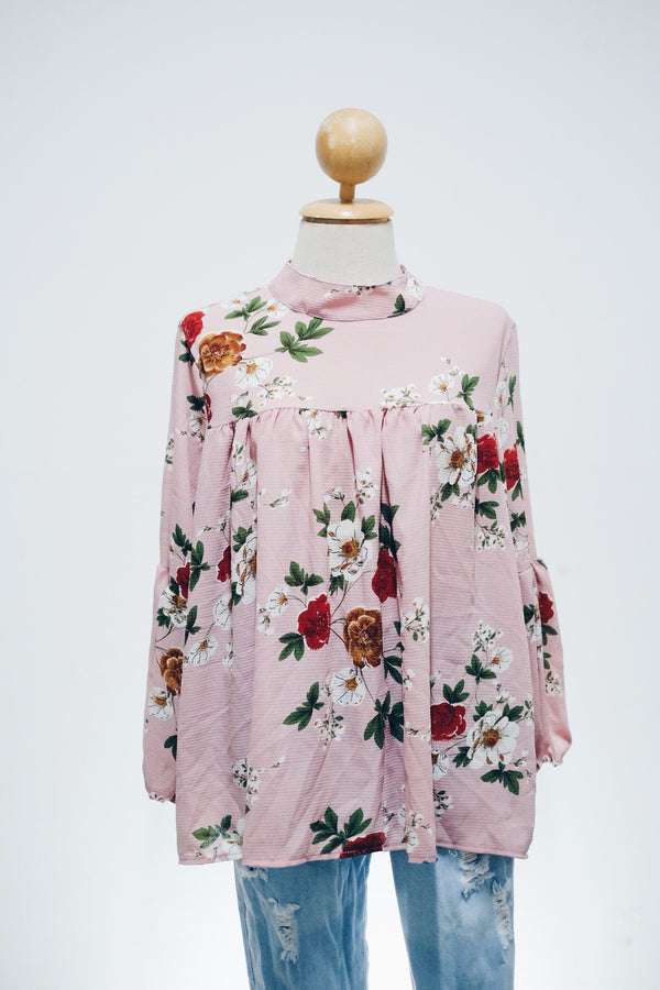 Printed Doll Top - Aster