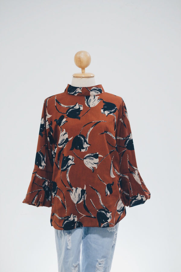Printed Doll Top - Tulipa (Mermaid)