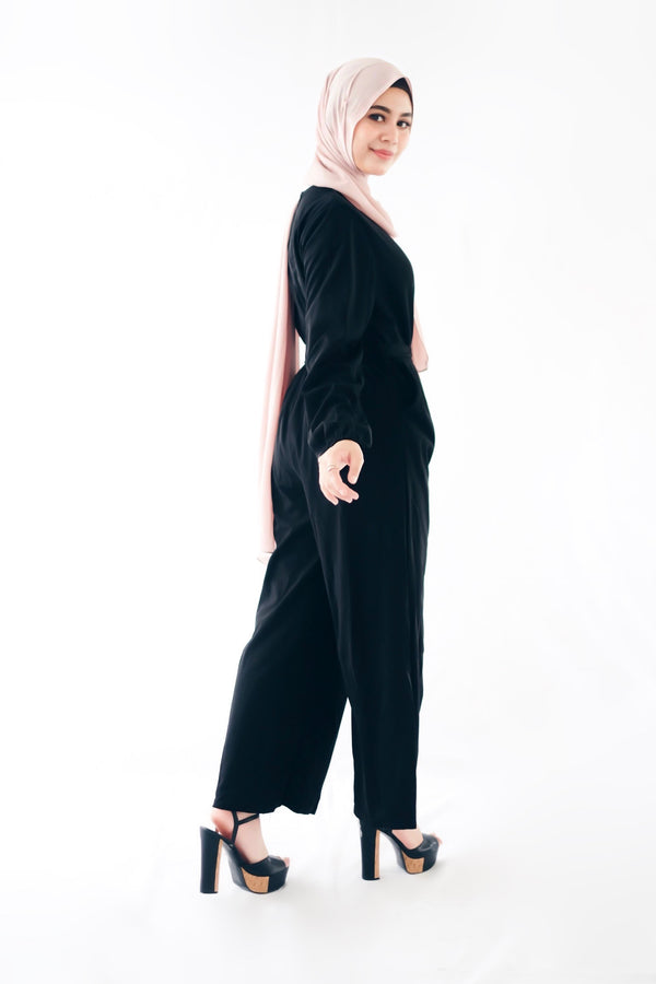 Jasmine Jumpsuit Black
