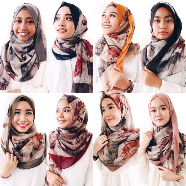 Purcheria Printed Shawl - Instock