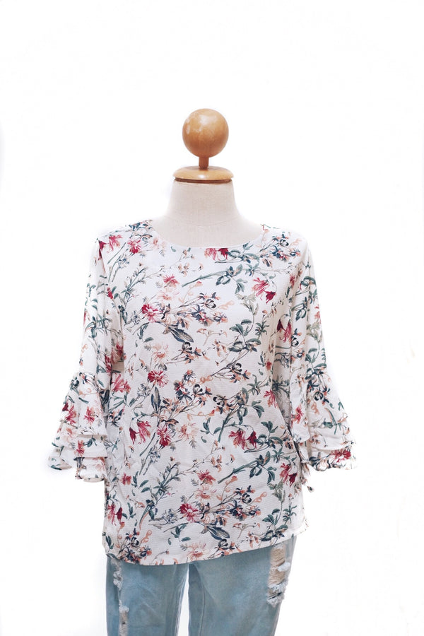 Printed Doll Top - Sarah