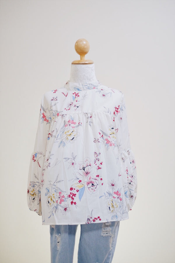 Printed Doll Top - Camilla
