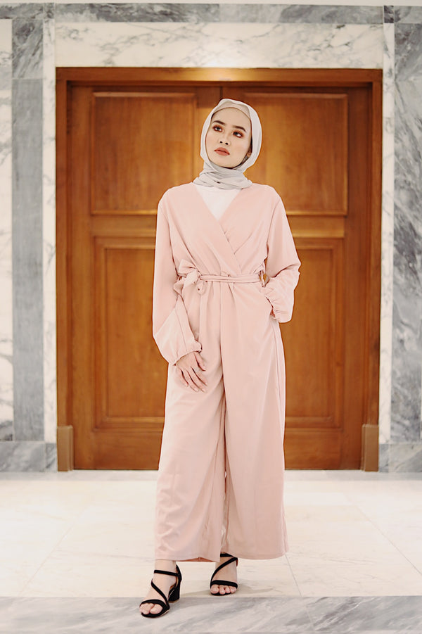 Jasmine Jumpsuit Dusty Pink