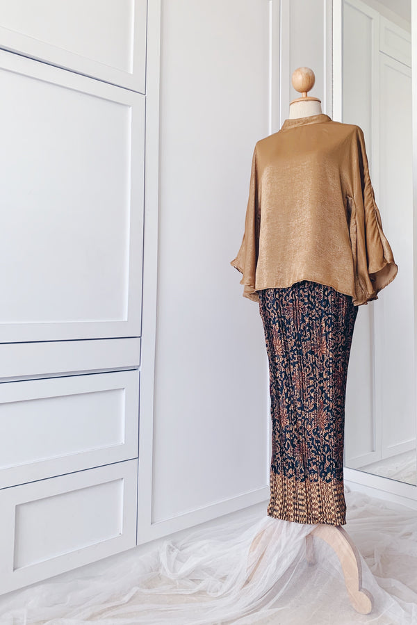 Pleated Skirt - Rich