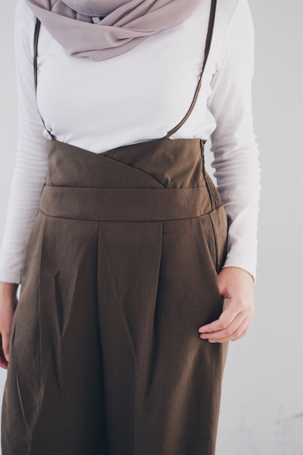 Suspender Pants - Wave