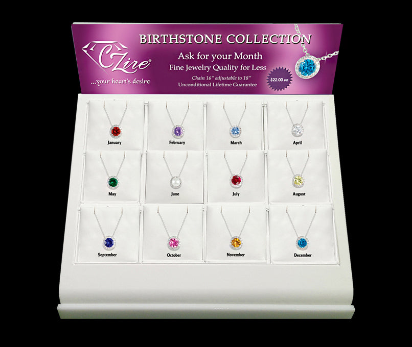 Birthstone Necklace Collection