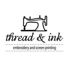 thread and ink embriodery and screen printing
