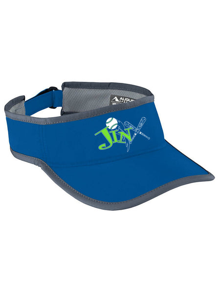 67288acf5fd Jinx 07 Softball-Augusta Trail Blaze Visor-Royal Graphite - Surge Promotions