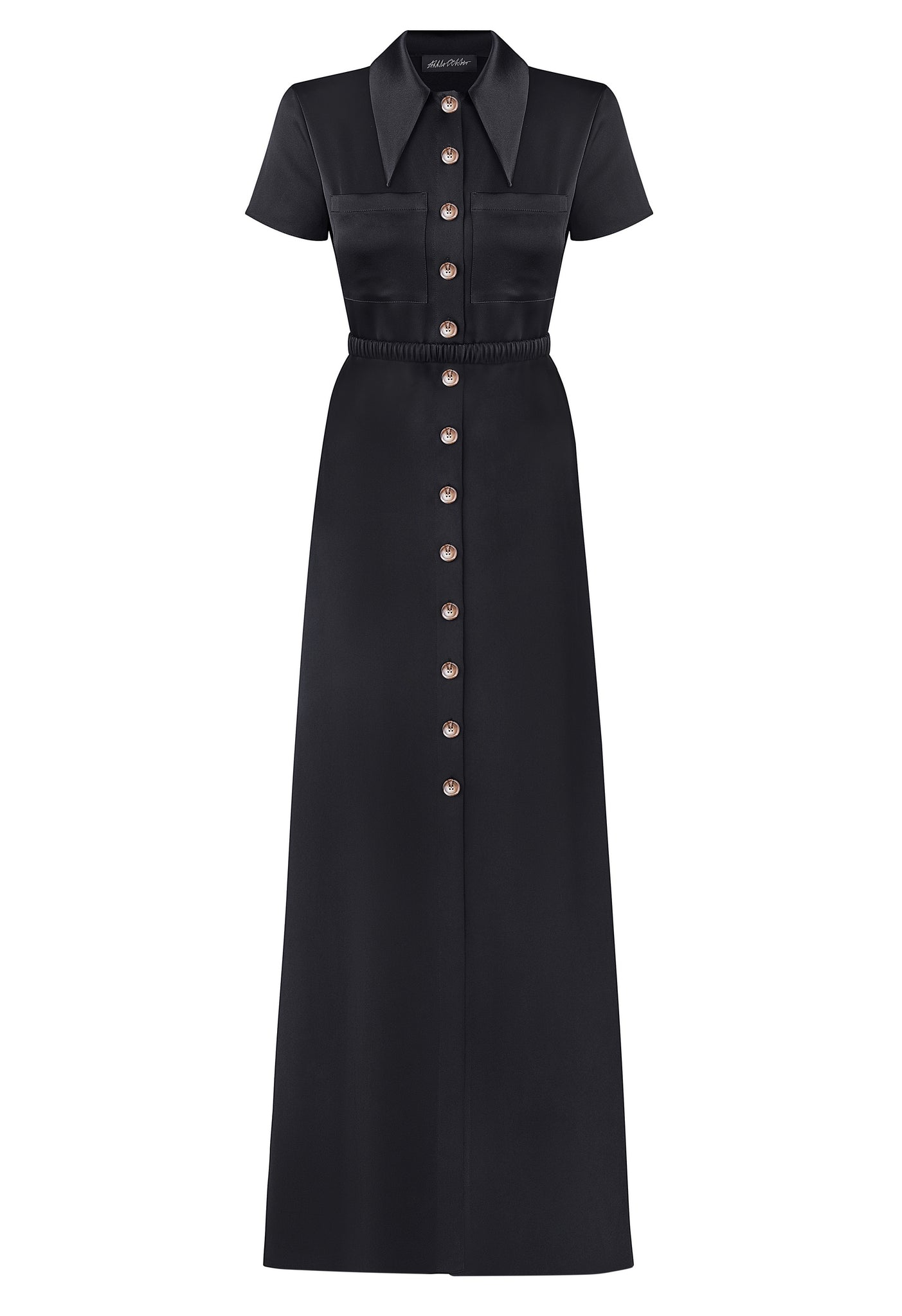 'Monday' dress, front view.