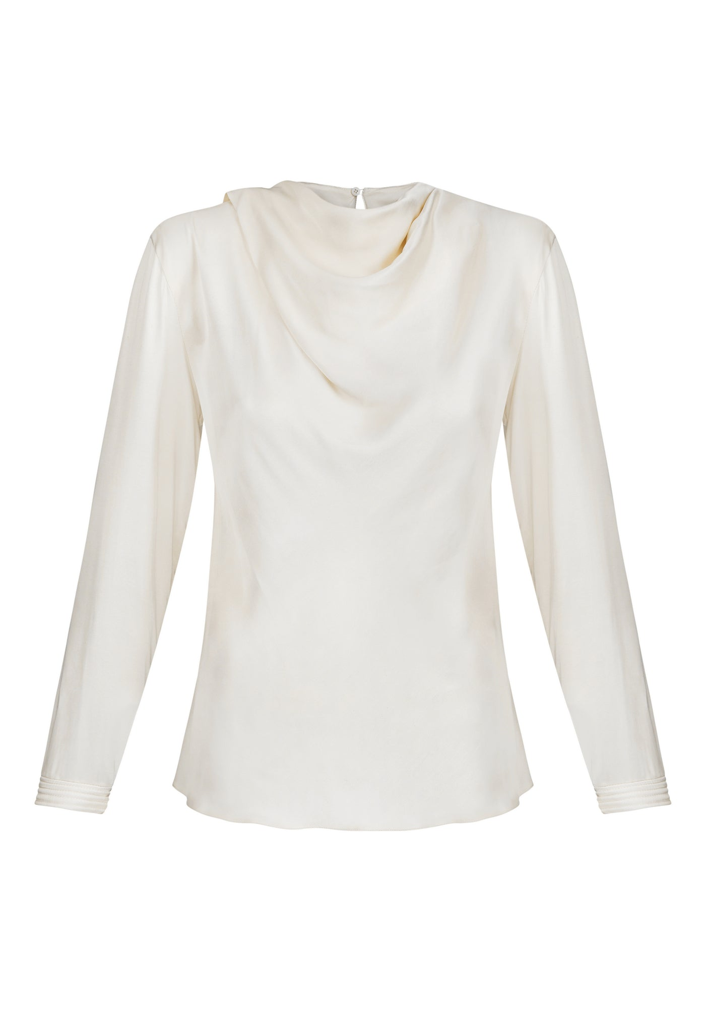 'Vanilla' blouse, front view.