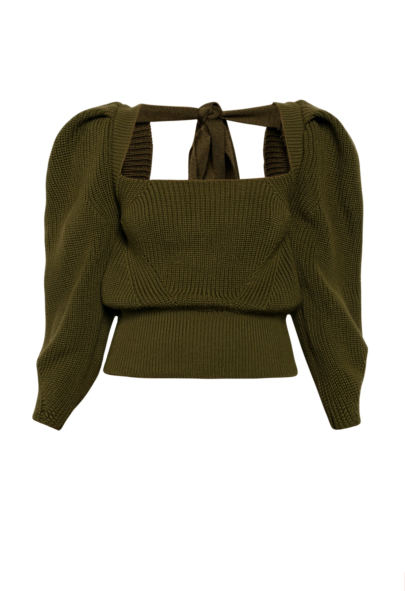 'Rachel' sweater, front view.