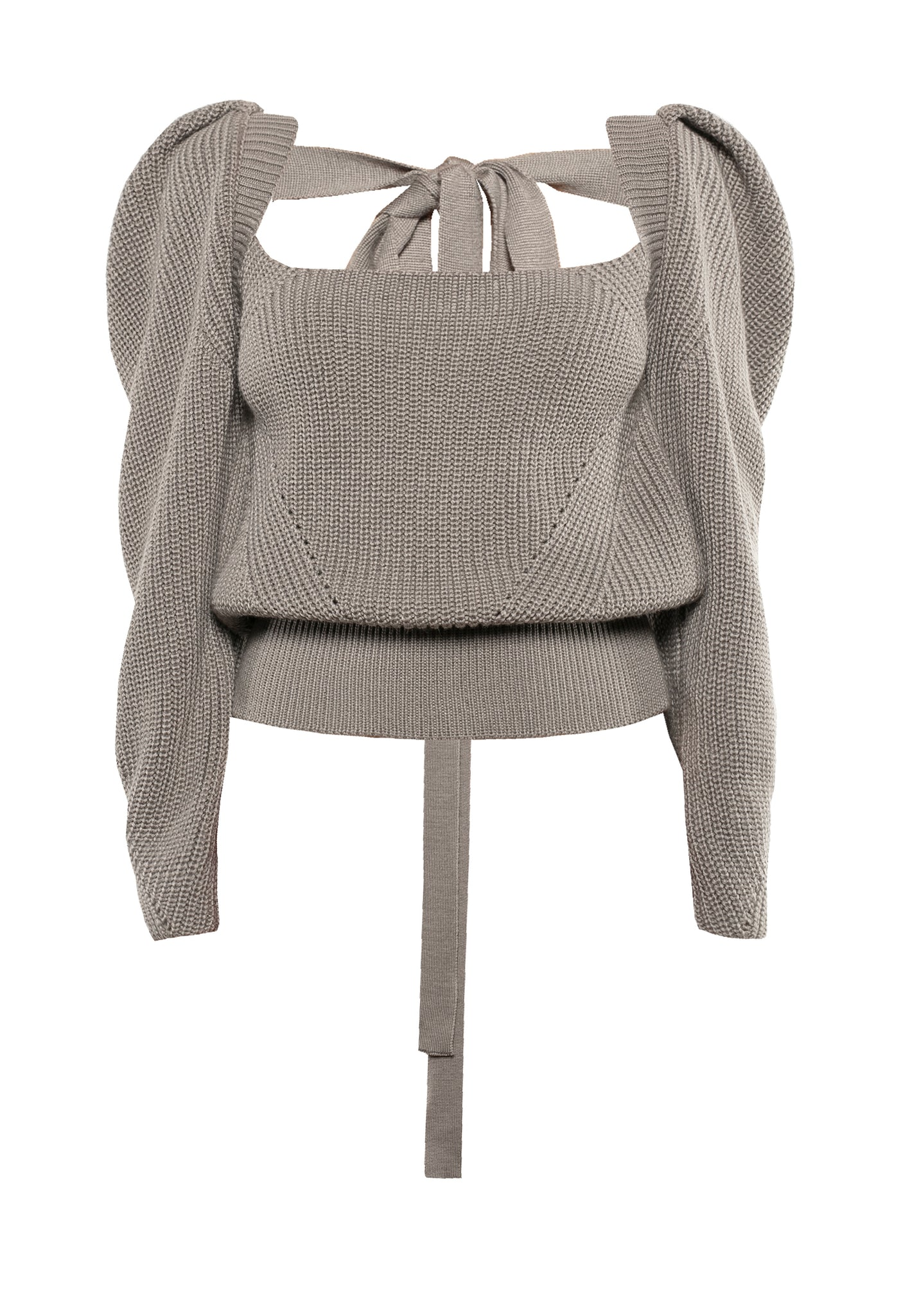Rachel sweater, front view