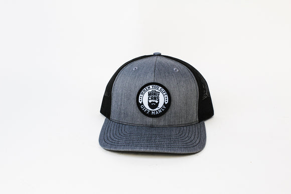 Manly Cans Trucker Hat