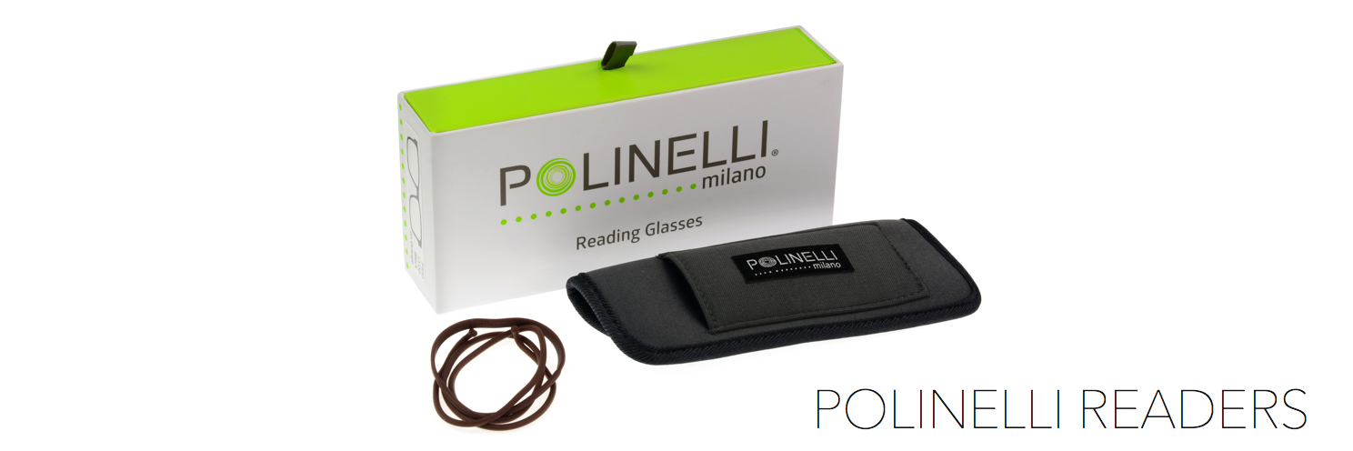 Polinelli Reading Glasses | Frame Crafters Eyewear