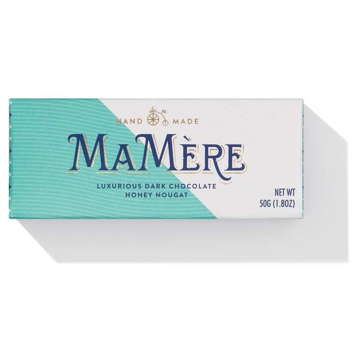 MaMere Luxury Dark Chocolate Nougat 50g