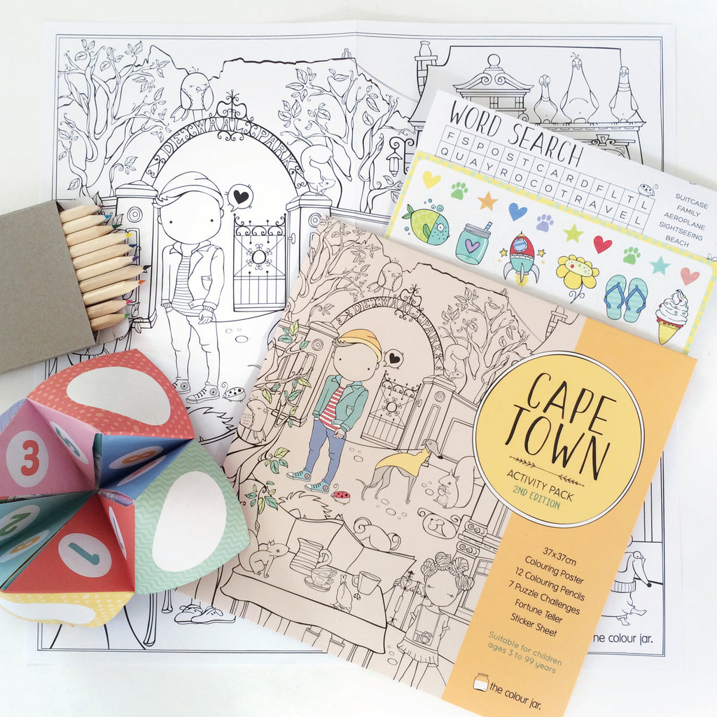 Creative Play ACTIVITY PACK - Cape Town
