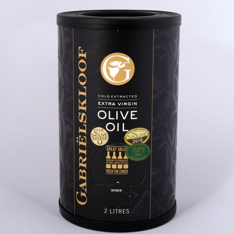Gabrielskloof Extra Virgin Olive Oil 2l in a tube
