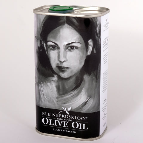 Kleinbergskloof Extra Virgin Olive Oil 500ml in a tin