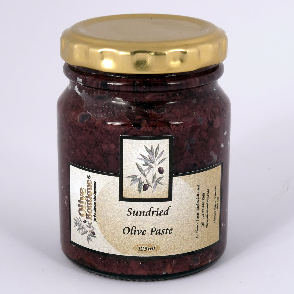 Olive Boutique Sun Dried Olive Paste 125ml