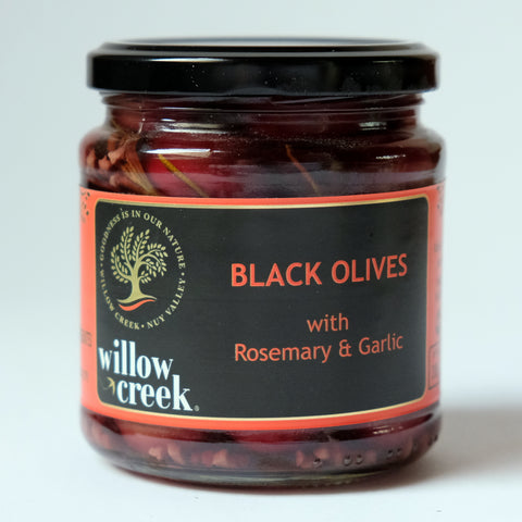 Willow Creek Rosemary & Garlic Olives 290g