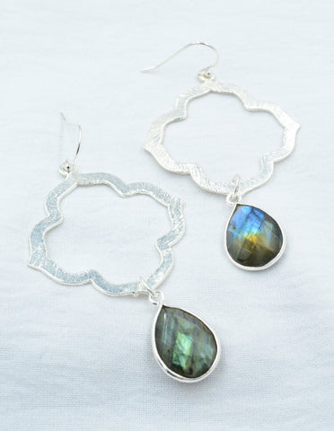 Aurora Natural Labradorite Moroccan Dream