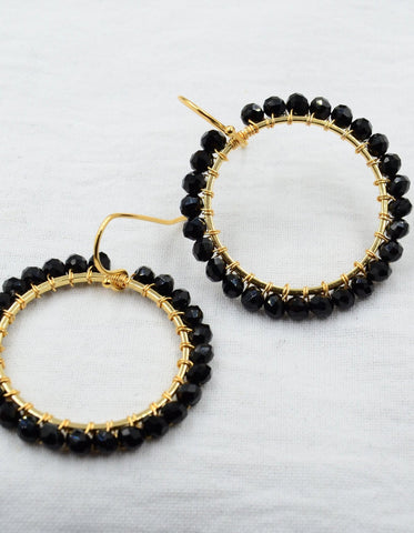 Aurora Black Brilliant Basics in Gold or Silver