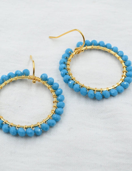 Aurora Turquoise Brilliant Basics in Gold