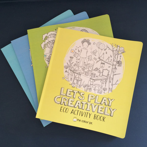 Let's Play Creatively ACTIVITY BOOKS - Eco
