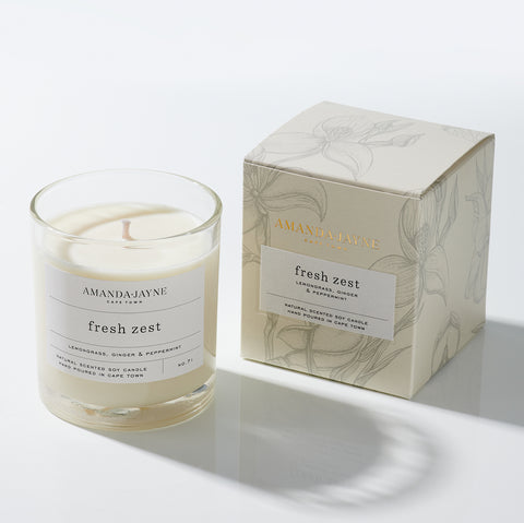 Amanda Jayne Fresh Zest Glass Candle