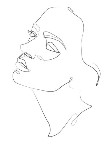 Mono Line drawing - Women 1