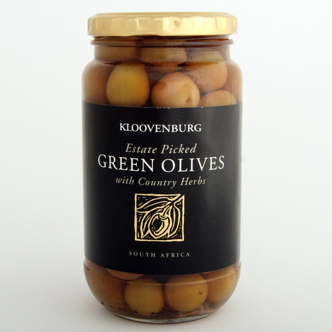 Kloovenburg Green Olives with Country Herbs