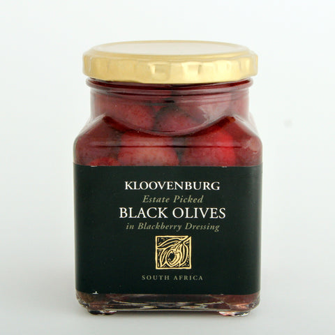 Kloovenburg Black Olives in Blackberry Dressing