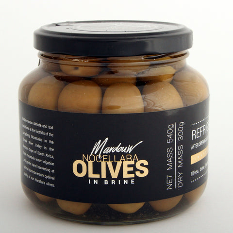 Mardouw Green Olives in Brine