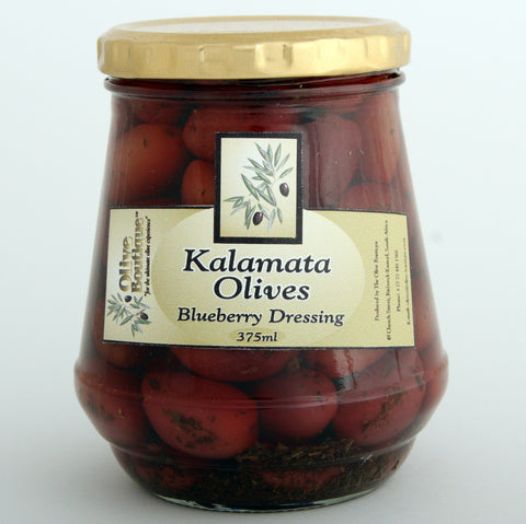 Olive Boutique Kalamata Olives in Blueberry Dressing