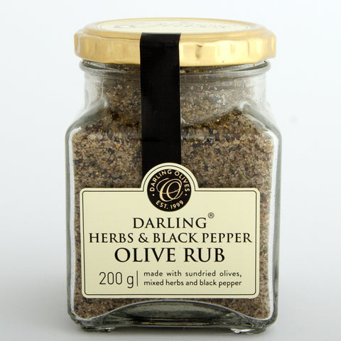 Darling Olive Rub Mixed Herbs & Black Pepper